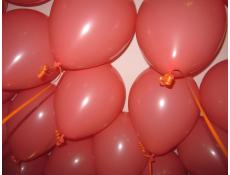 Matt Coral Fashion Helium Latex Balloons www.corporaterewards.com.au