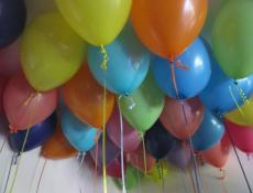Matt Fashion Latex Balloons  assorted colours www.corporaterewards.com.au