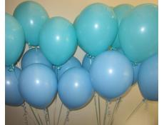 Pale Blue and Caribbean Blue Latex Balloons | CorporateRewards.com.au