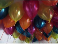 Metallic Magenta, Orange, Yellow and Teal Balloons CorporateRewards.com.au