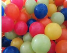 Fashion orange, blue, lime, yellow and red balloons. | corporaterewards.com.au