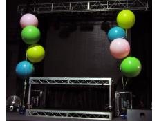 90cm Giant Latex Balloon Arrangements | Pink, Lime, Yellow & Blue Helium Balloons Metropolis Night Club Fremantle | CorporateRewards.com.au