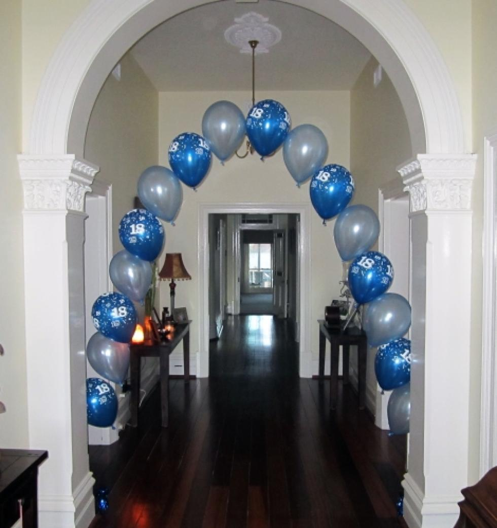 18th Birthday Balloon Arch