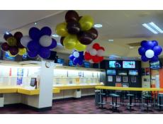 Footy Balloon Clusters TAB Balloon Decorations Perth | www.CorporateRewards.com.au