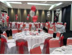 Helium Balloon Wedding Reception Decorations Crown Hotel Burswood | CorporateRewards.com.au