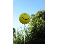 Giant Yellow Smiley Face Balloon CorporateRewards.com.au
