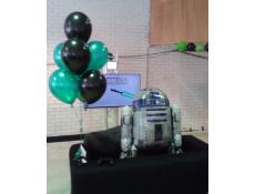 R2D2 Droid Airwalker and Latex Balloon Decorations | corporaterewards.com.au