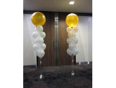 Ballroom Giant Entrance Balloon Arrangements Hilton Hotel Perth | www.CorporateRewards.com.au