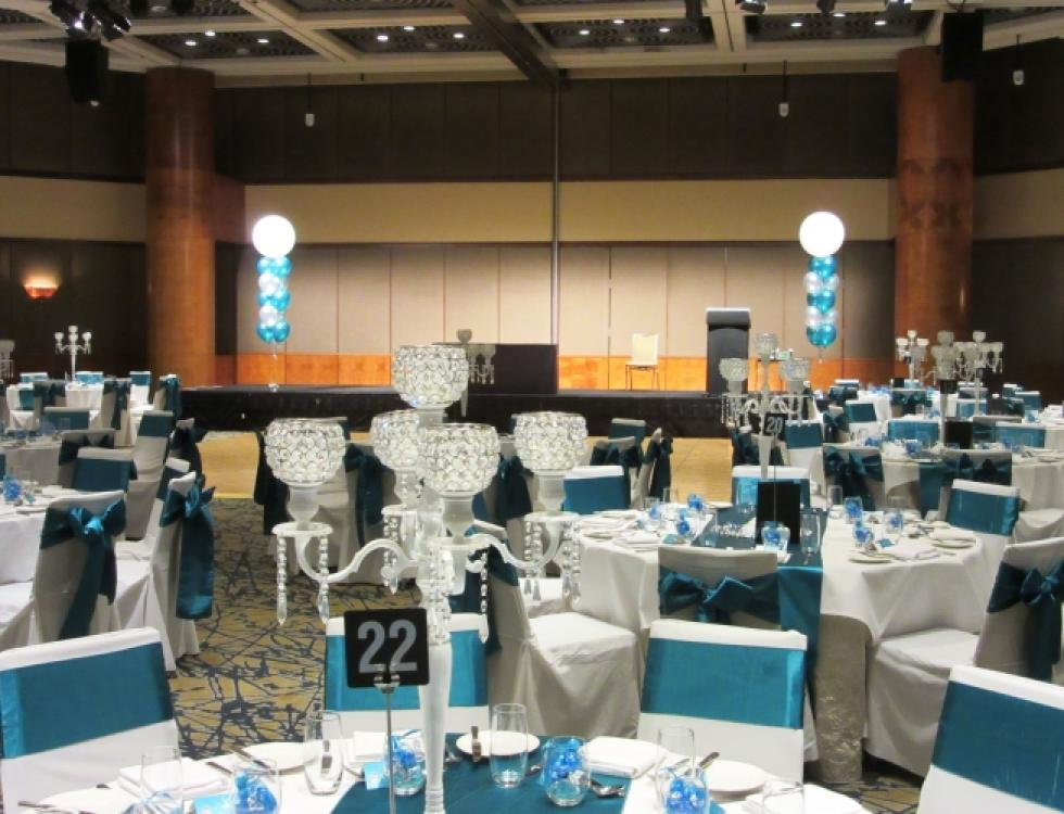 Ballroom Presentation Stage Arrangements Grand Ballroom Hyatt Hotel Perth | corporaterewards.com.au