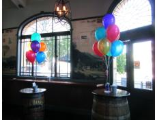 Colourful Balloon Arrangements The Paddington Long Bar | www.CorporateRewards.com.au