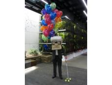 Helium Latex Balloons Crown Complex Burswood | Old Man UP Movie | CorporateRewards.com.au