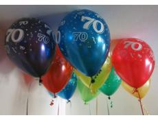 70 Print Helium Latex Balloons | Assorted Metallic Balloons www.CorporateRewards.com.au