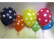 Big Hearts Print Latex Balloons www.CorporateRewards.com.au