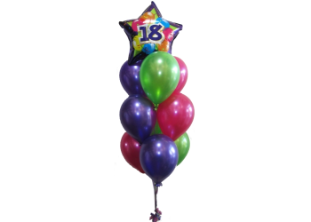 18th Balloons Birthday Balloons Helium Balloons Perth 18 Birthday Party Balloons And Balloon Bouquets Same Day Delivery In Perth