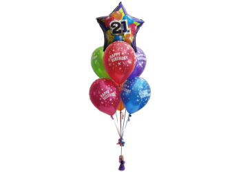 21st Birthday Balloons Helium Balloons Perth 21st
