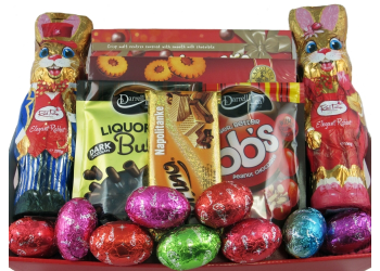 Easter gift baskets easter eggs perth big bunny easter gift big bunny basket negle Images
