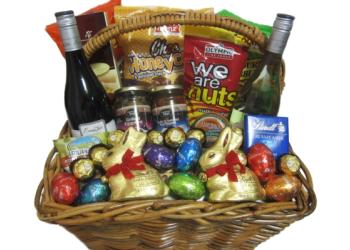 Easter egg baskets easter gourmet gift baskets perth easter easter weekender negle Images