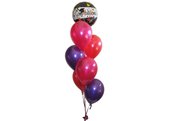 Graduate Balloon Bouquet Helium Balloons Perth