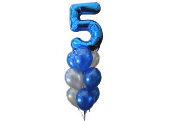Giant Five Balloon Arrangement