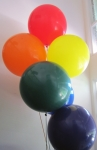 Helium Balloons Perth | 3 foot latex balloons