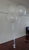 Wedding Balloons Perth | 3 Foot White Helium Latex Balloons