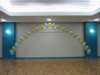 Ballon ARch Perth | Blue Gold Balloon Arches
