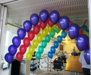Balloons Arch Perth | Rainbow Tunnel Balloon Arches