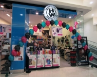 Balloon Arch Perth | Black, Magenta & Teal Helium Balloons