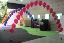 Helium Balloon Arches