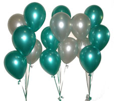 Balloon Arrangements - 5 latex balloons