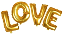 LOVE Balloon Letter Helium Wedding Decorations