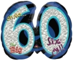 Big 60 Oh No Balloon Shape