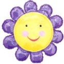 Chatterbox Flower Purple Balloon
