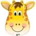 Giraffe Face Balloon