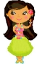 Hula Girl Balloon
