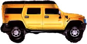 Hummer Gold Balloon