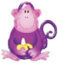 Helium Balloosn Perth | Jungle Monkey Balloons