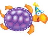 Party Turtle Balloon