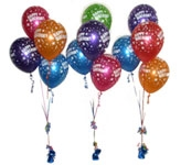 Birthday Balloon Arrangements
