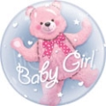 Baby Girl Double Bubble Balloon