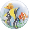 Fish Double Bubble Balloon