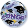 Graduation Balloons Perth | Congratulations Graduate Bubble Balloon