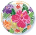 Tropical Hibiscus Bubble Balloon