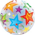 Stars Bubble Balloon