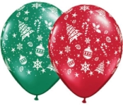 Helium Balloons Perth - Christmas Trimmings Print