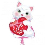 Cat Love You Balloon