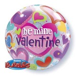 Valentines Day Bubble Balloons