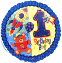Frist Boy Birthday Balloon