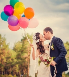 Wedding Day Helium Balloons Perth