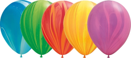 Helium Balloons Perth | Super Agate Balloon Assortment